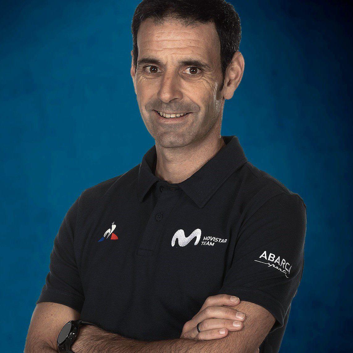 Patxi Vila Head of performance Movistar Team